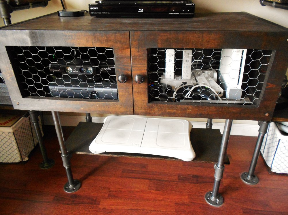 Industrial Chic Tv Stand