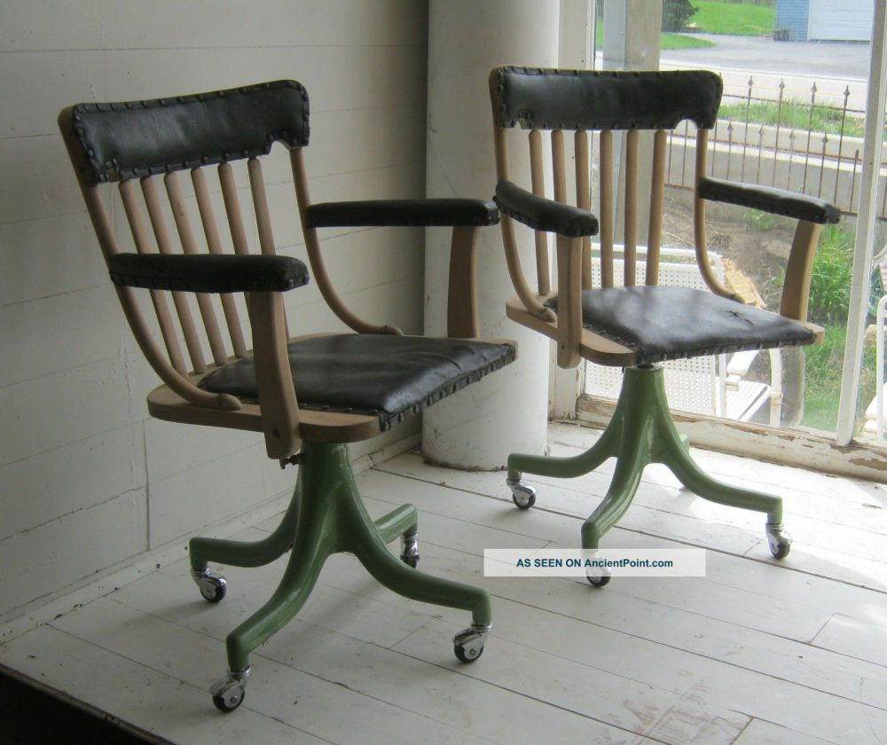 Industrial Office Chairs Vintage
