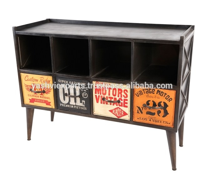 Industrial Tv Stand Metal