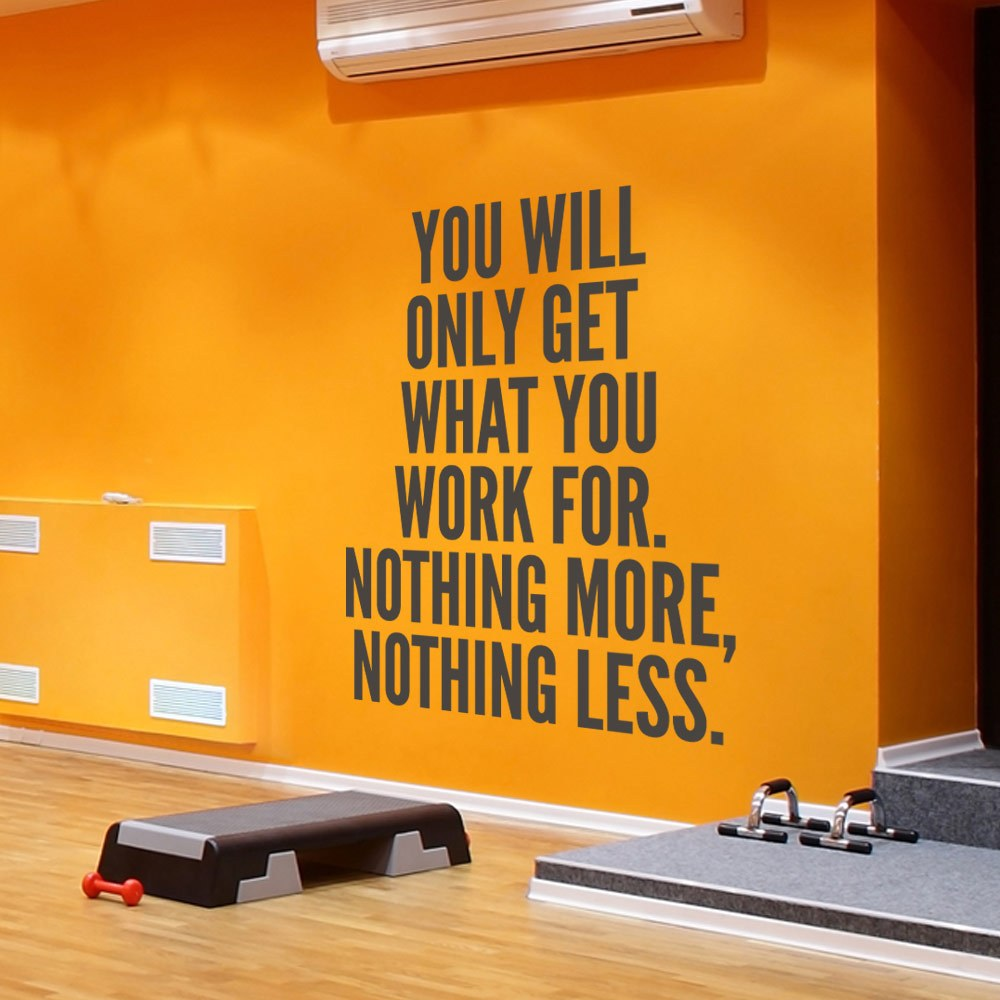 Inspirational Wall Decals For Gym