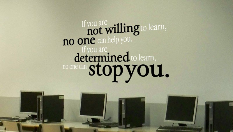Inspirational Wall Decals For School