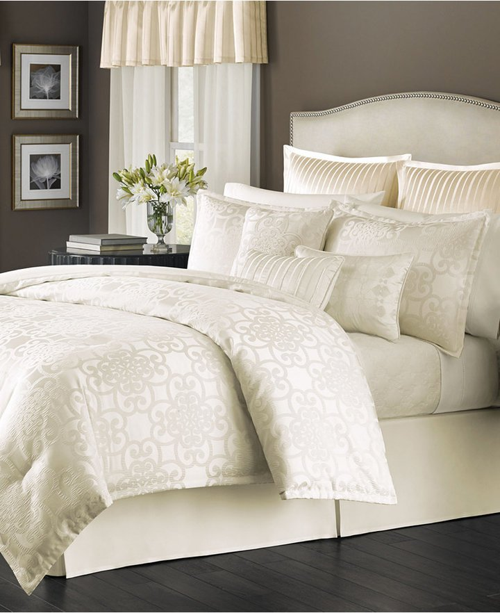 Ivory California King Comforter Set
