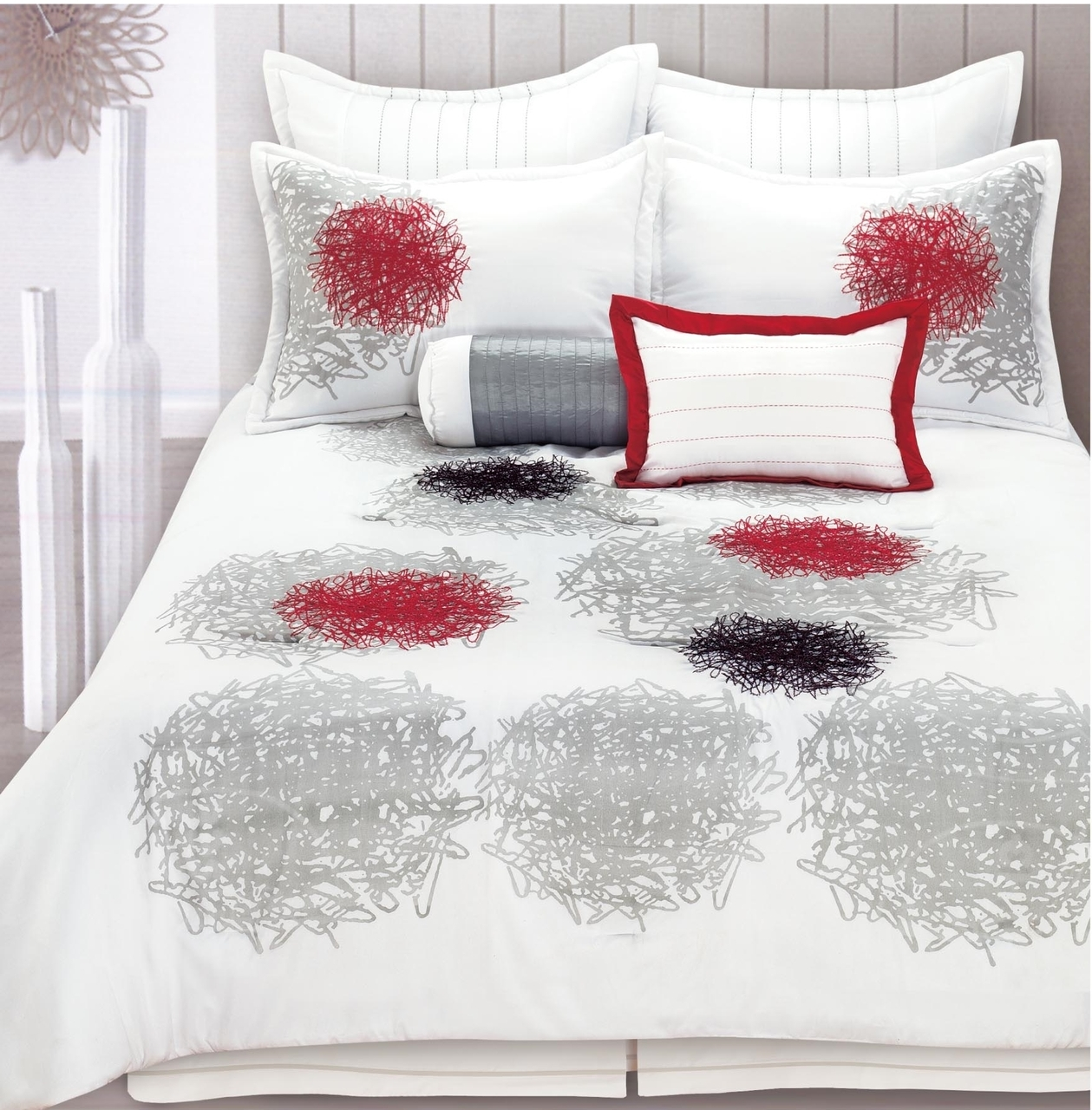 Jolie 8 Piece Comforter Set