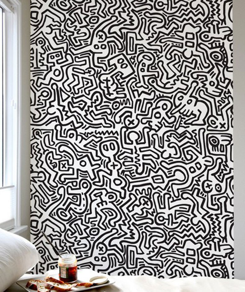 Keith Haring Wall Decal