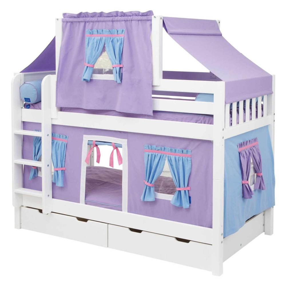 Kid Bed With Drawers Underneath