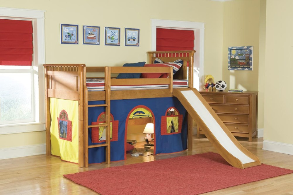 Kid Bed With Slide