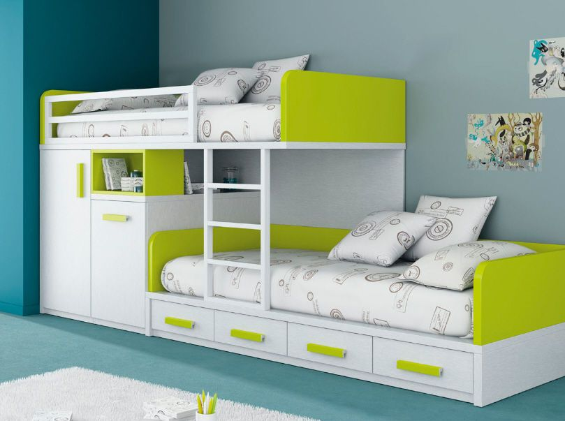 Kid Bed With Storage