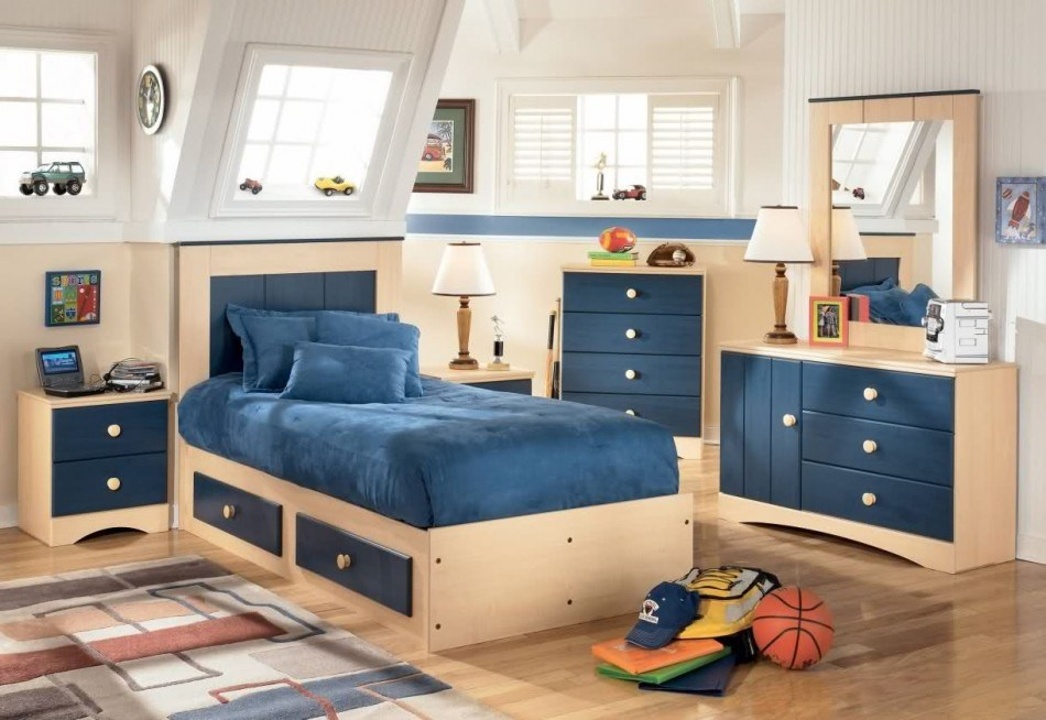 Kid Bedroom Storage Ideas