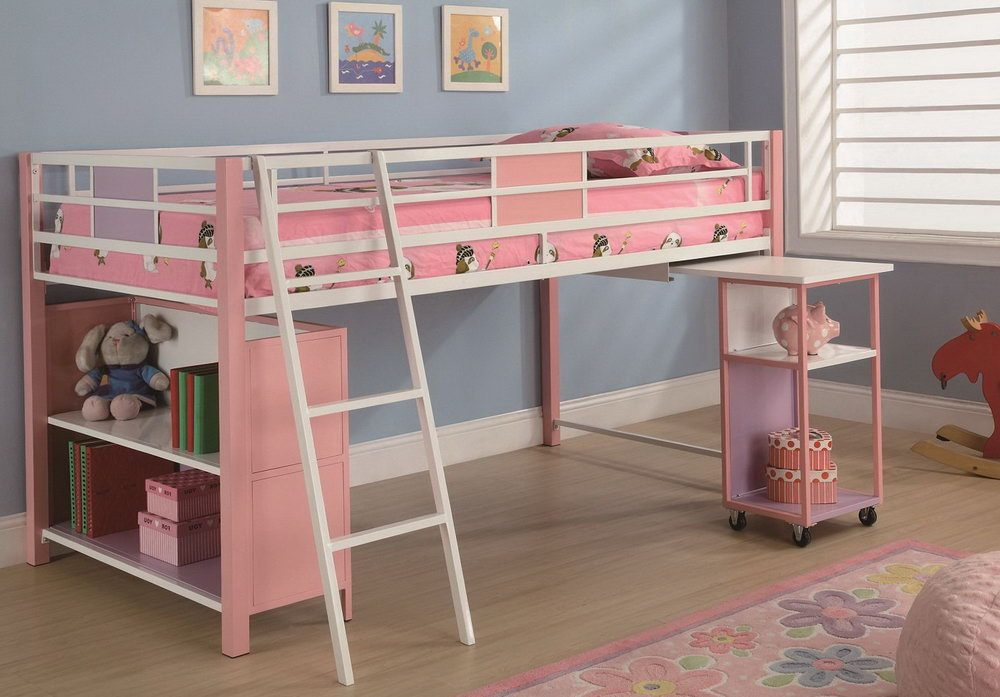 Kid Bunk Bed With Desk