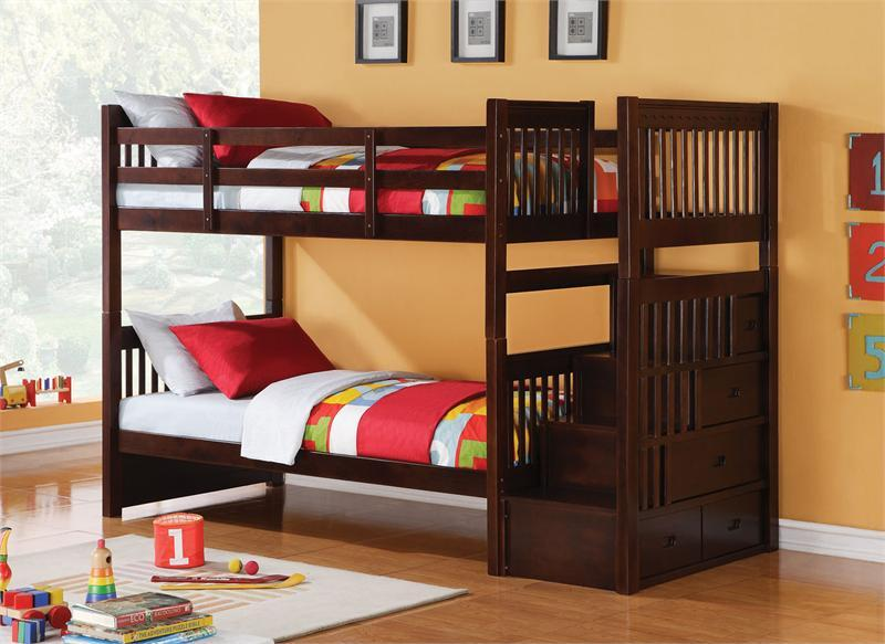 Kid Bunk Beds With Stairs