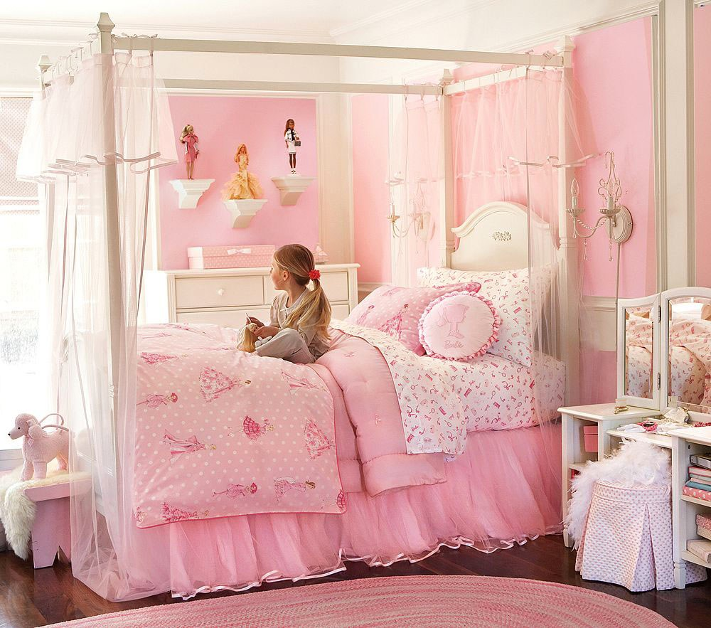 Kid Canopy Bed Curtains