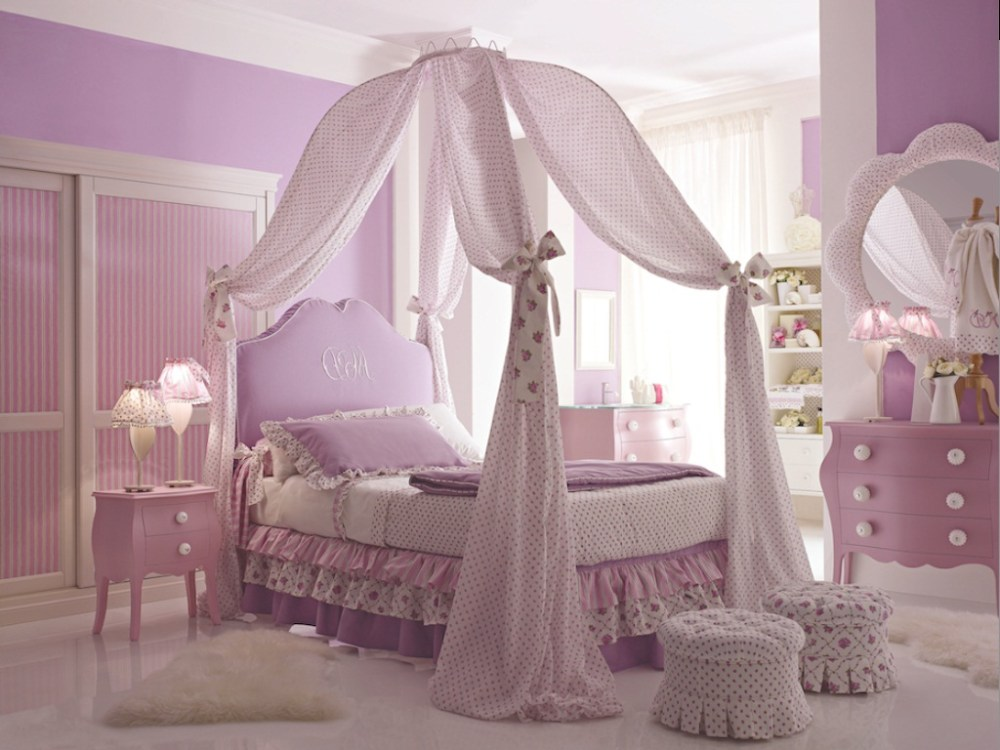 Kid Canopy Bed