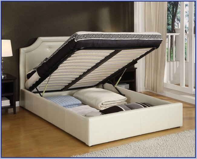 Kid Full Size Bed With Storage