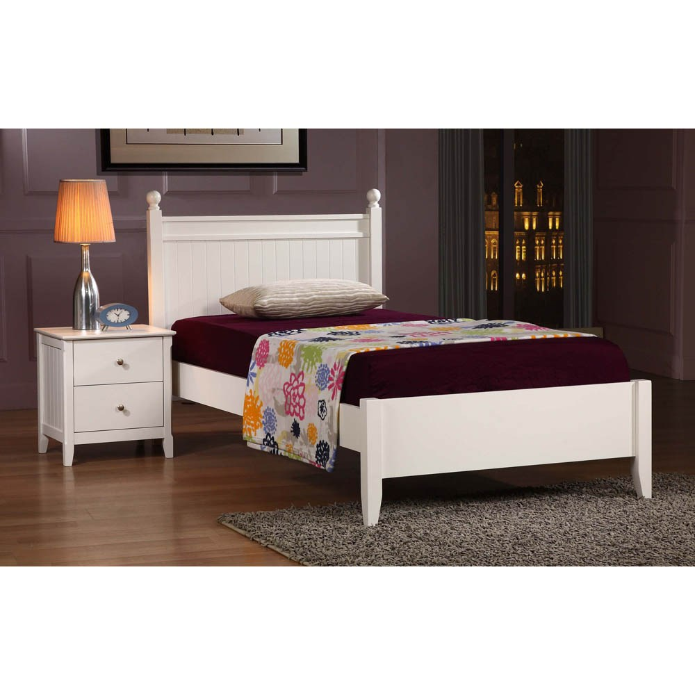 Kid Twin Bed White