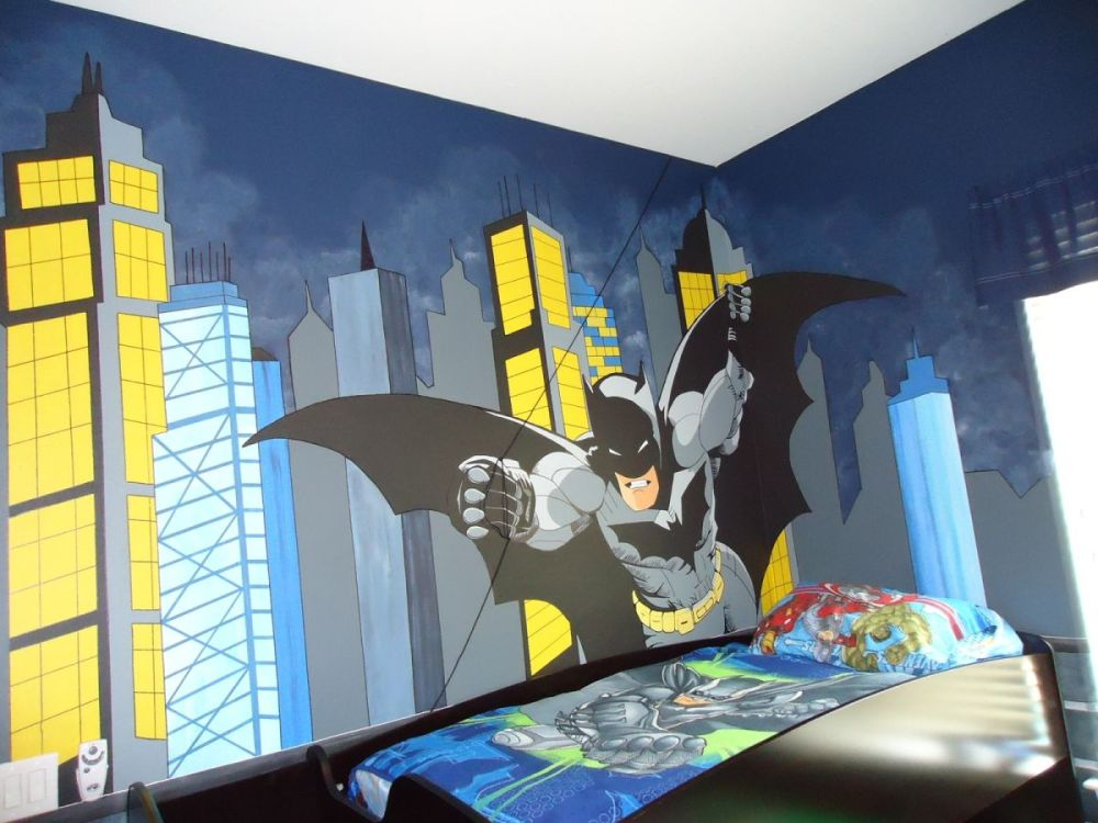 Kids Batman Bedroom Ideas
