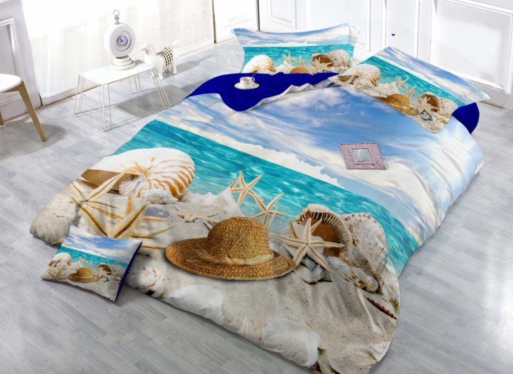 Kids Beach Themed Bedding