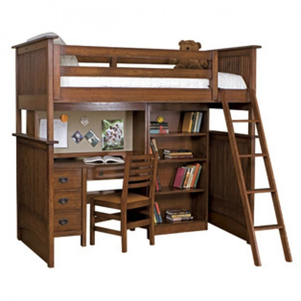 Kids Bed And Desk Combo