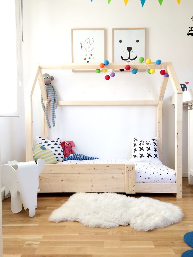 Kids Bed Frame House