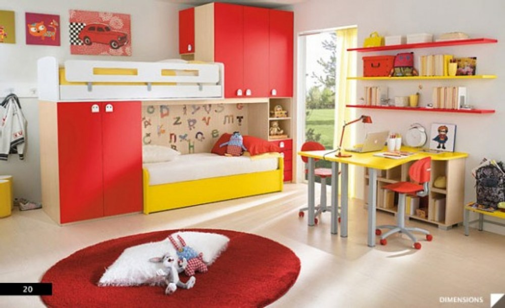 Kids Bed Room Designs