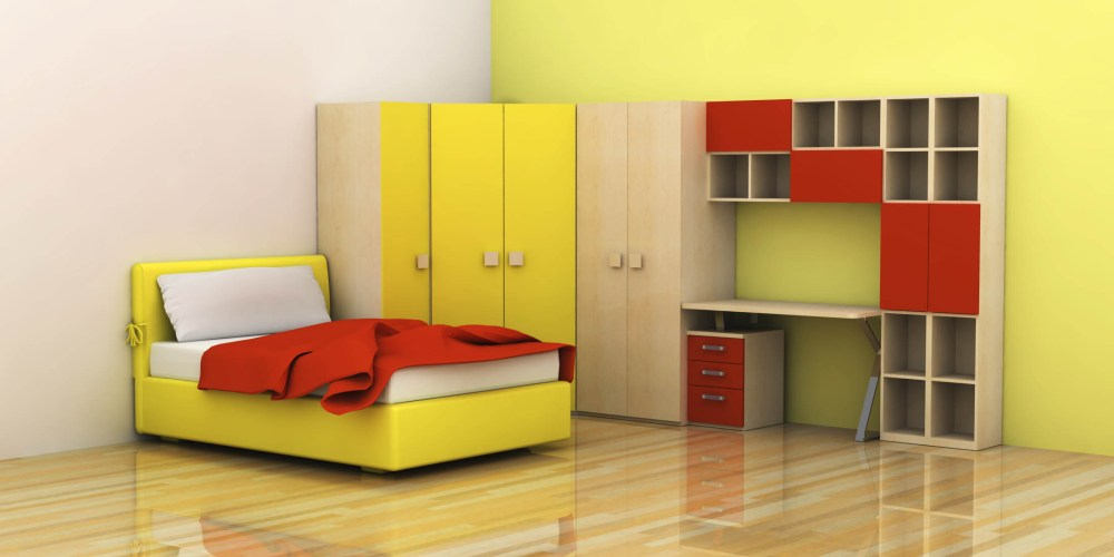 Kids Bed Room Interior