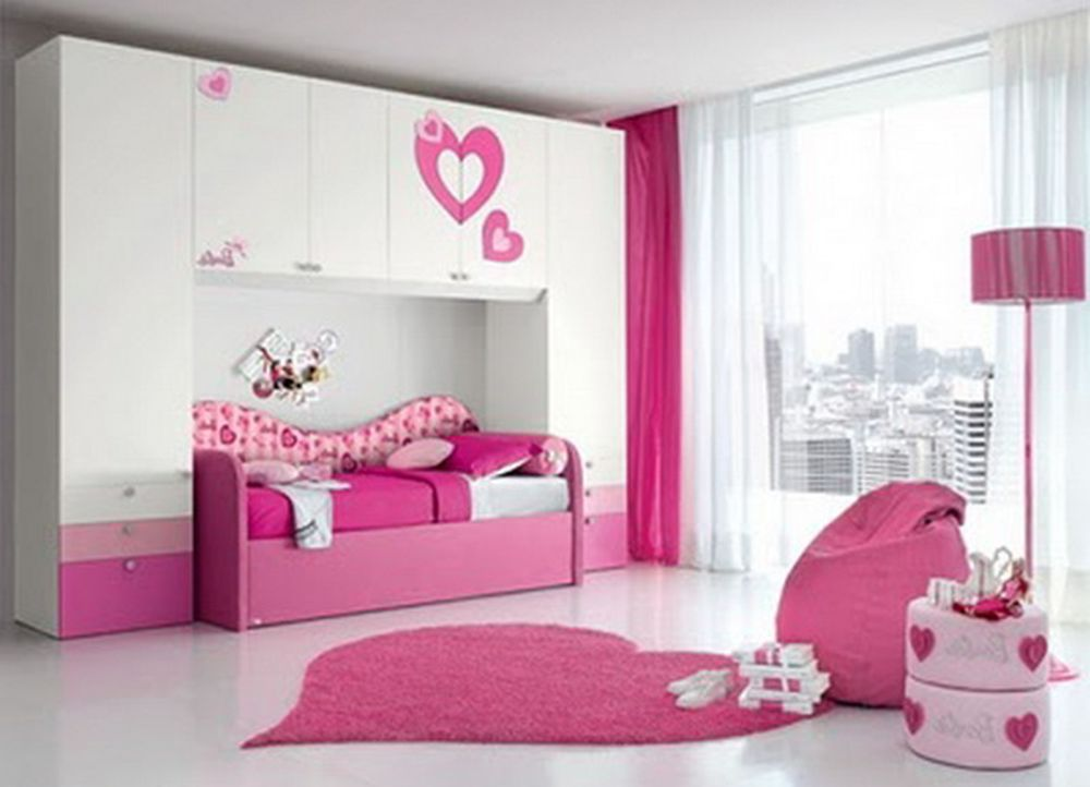 Kids Bed Rooms For Girls