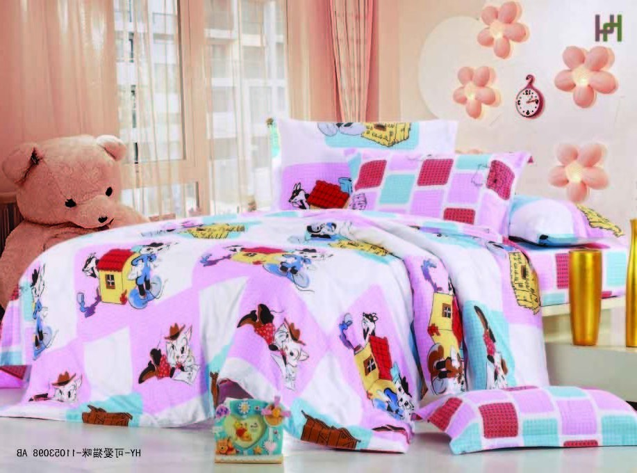 Kids Bed Sheet Designs