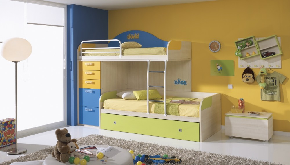 Kids Bed Storage Ideas