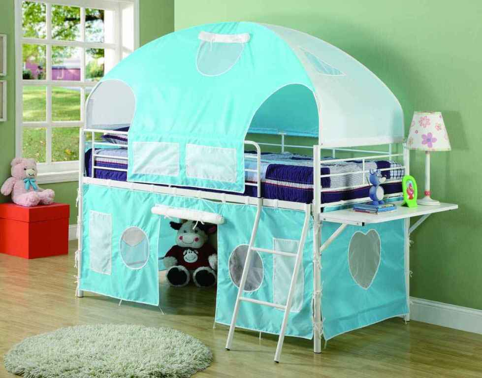 Kids Bed Tent Diy