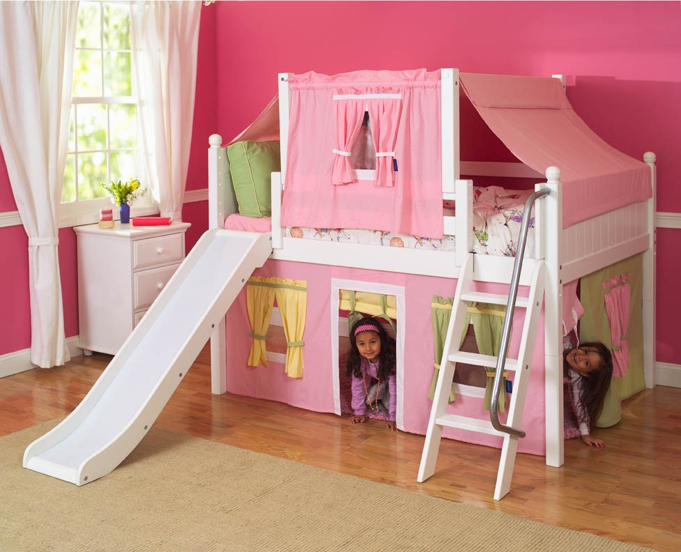 Kids Bed With Slide