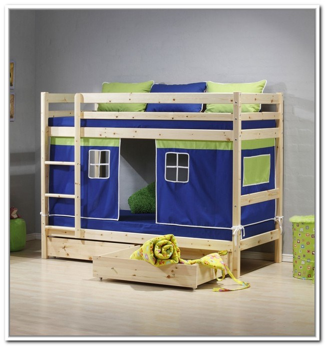 Kids Bed With Storage Under