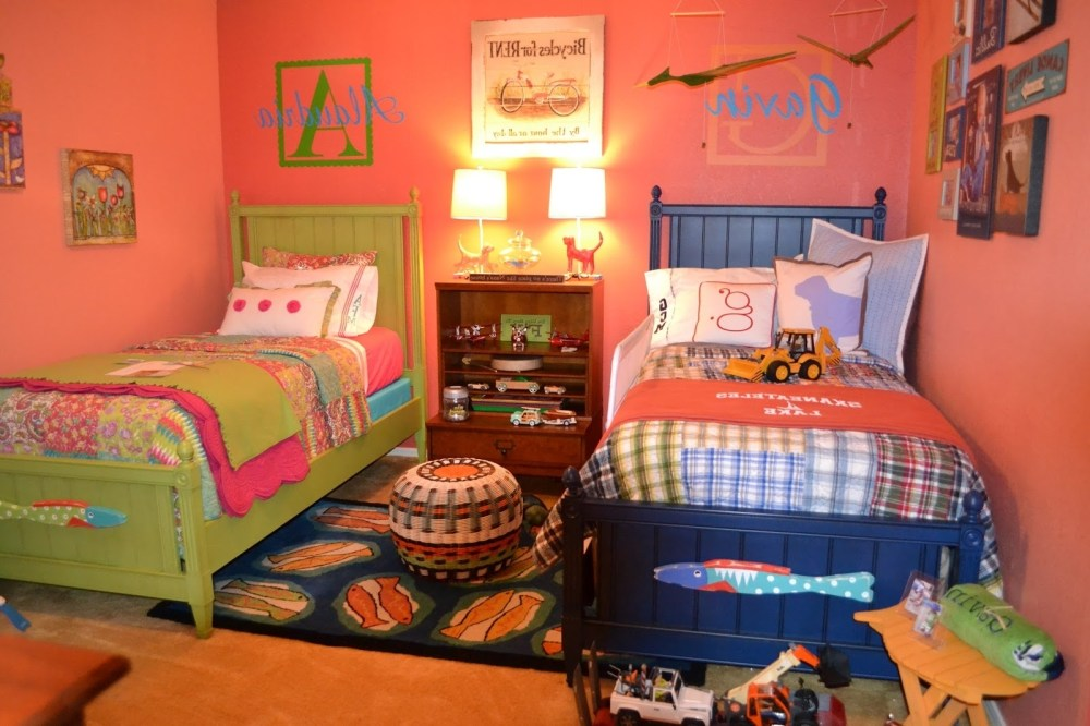 Kids Bedroom For Boy And Girl