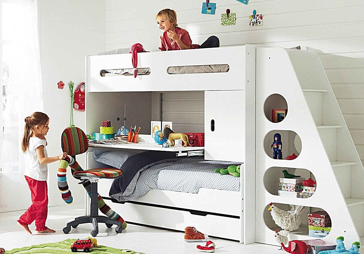 Kids Bedroom Sets With Desk