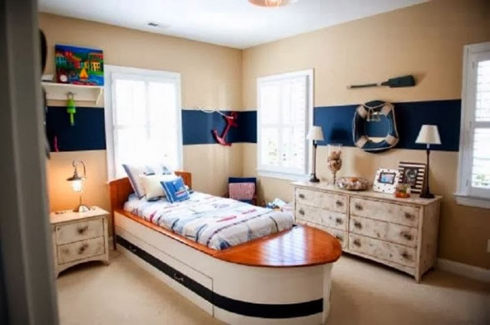 Kids Boat Bedroom