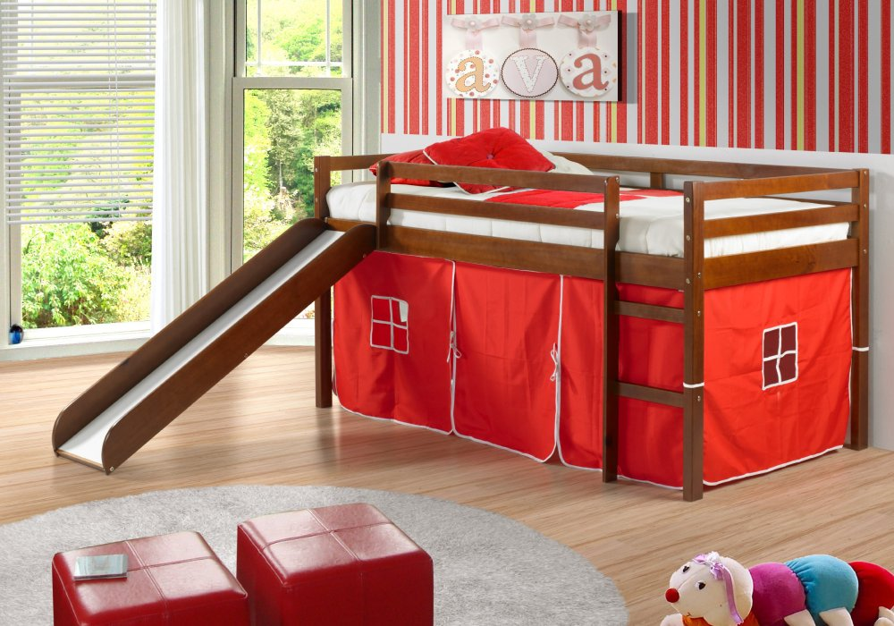Kids Bunk Beds With Slide