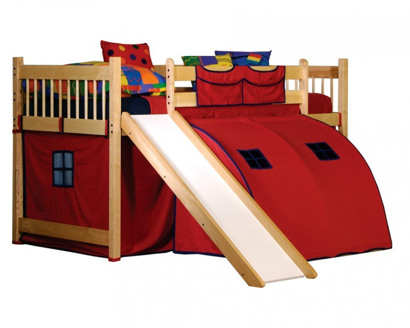 Kids Bunk Beds With Slides
