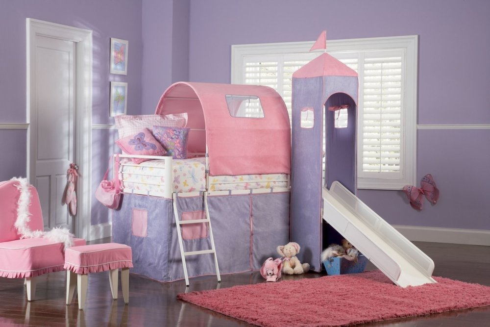 Kids Bunk Beds With Stairs And Slide