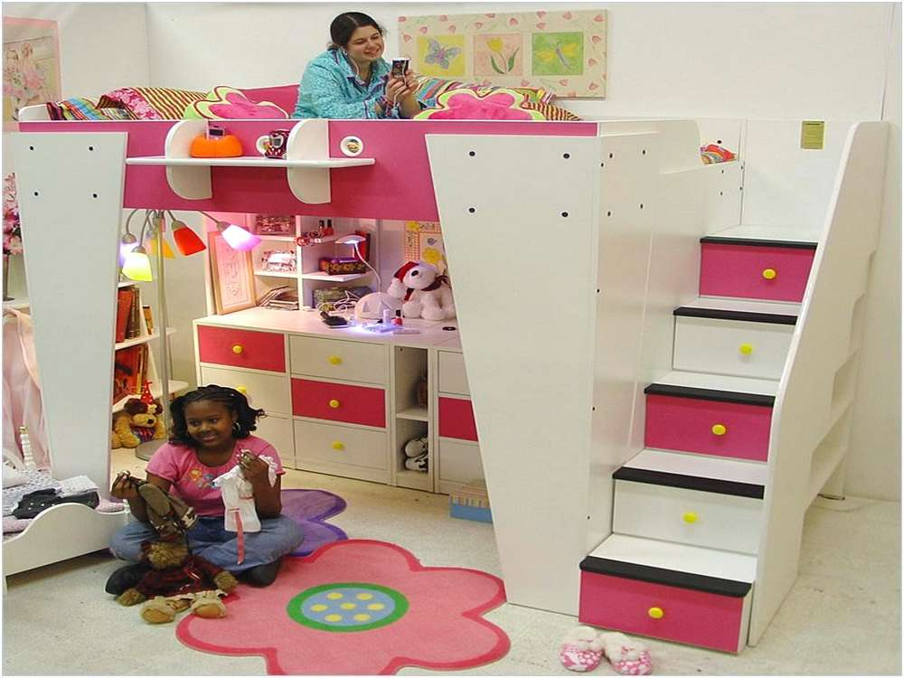 Kids Bunk Beds With Steps