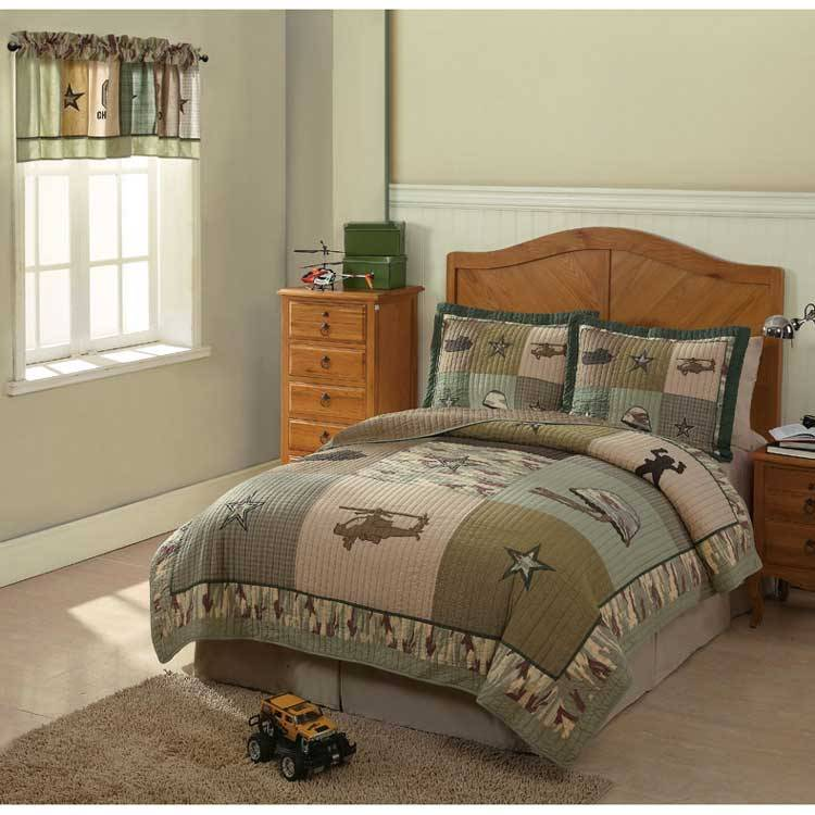 Kids Camo Bedding