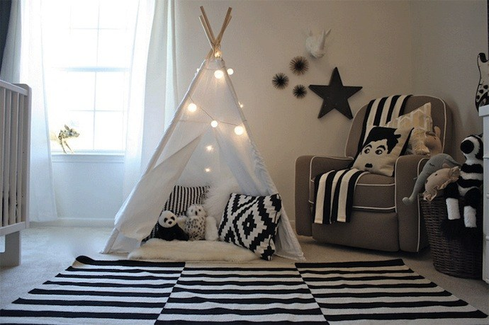 Kids Camping Bedroom