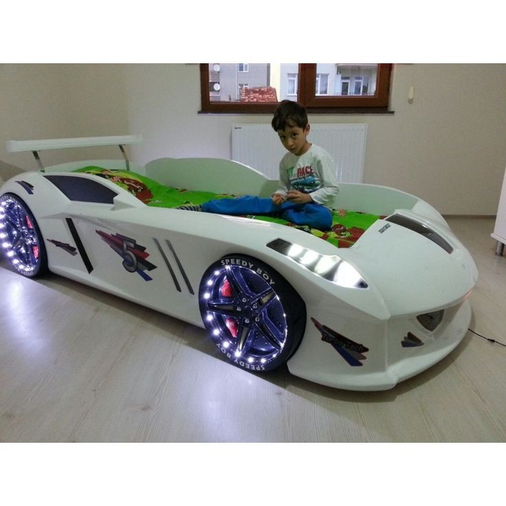 Kids Car Bed With Lights