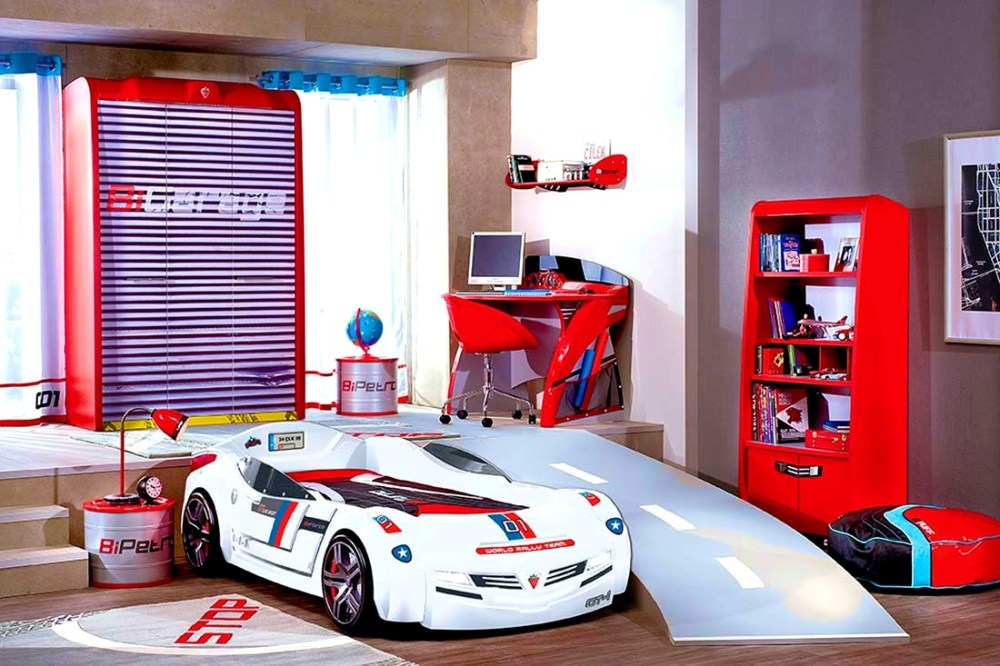 Kids Car Bedroom Ideas