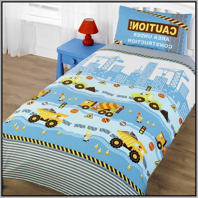 Kids Construction Bedding