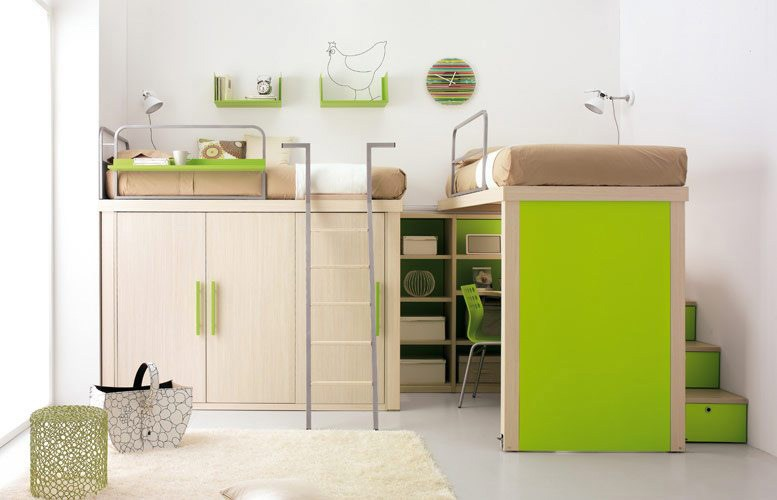 Kids Double Beds With Storage