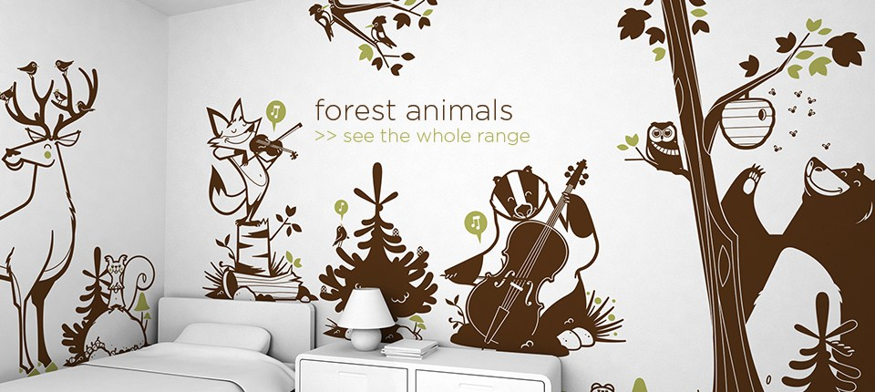 Kids Forest Wall Decals