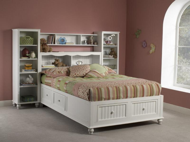 Kids Full Bed With Storage