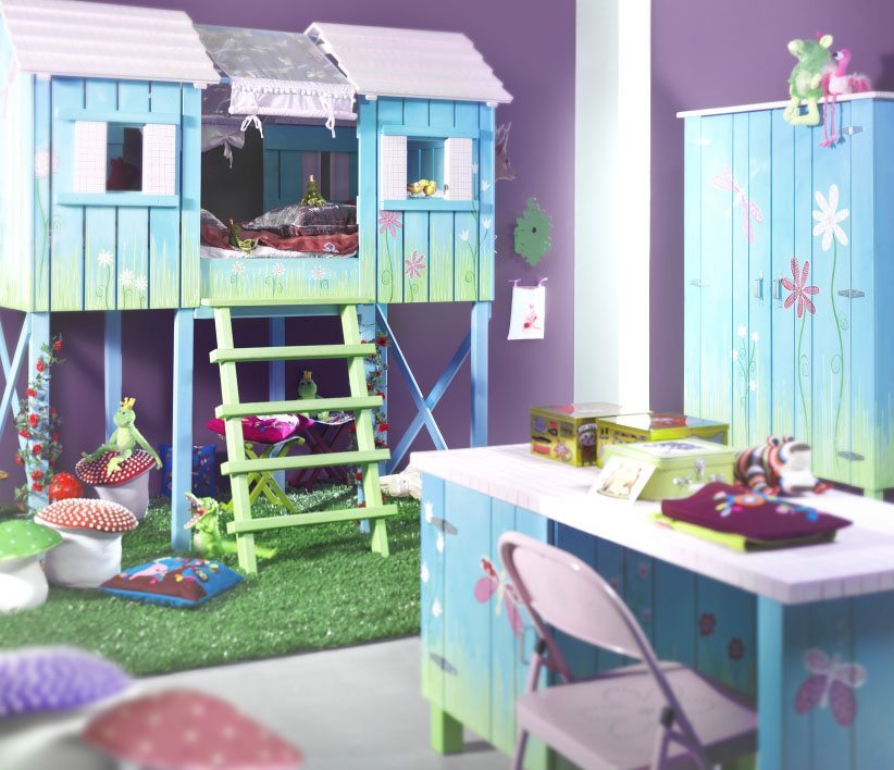 Kids Fun Bedroom