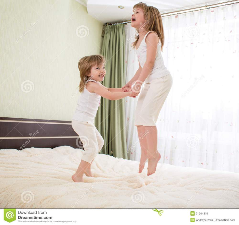 Kids Jumping Bed
