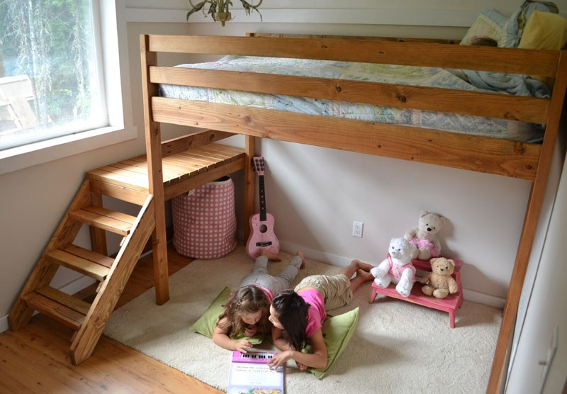 Kids Loft Bed Diy
