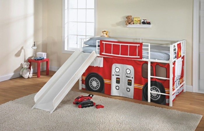 Kids Loft Bed Slide