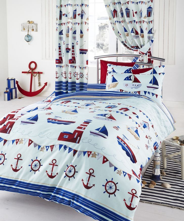 Kids Nautical Bedding